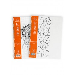 Whitelines WL 101 Notebook Grid A4