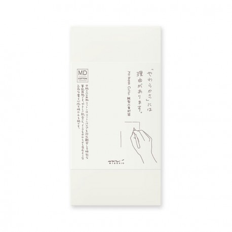 Midori MD Paper Cotton Envelopes