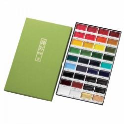 Farby akwarelowe Kuretake Gansai Tambi 36 kolorów