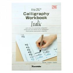 Kuretake Calligraphy Workbook Italic