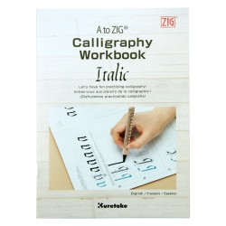 Kuretake Zeszyt do kaligrafii Italika