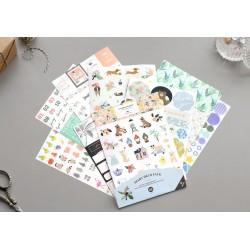 Zestaw naklejek ICONIC Diary Deco Pack v.8