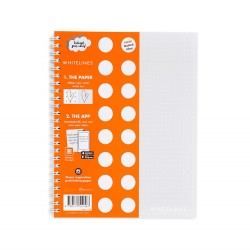 Whitelines Notebook WL105 A5 Dotted