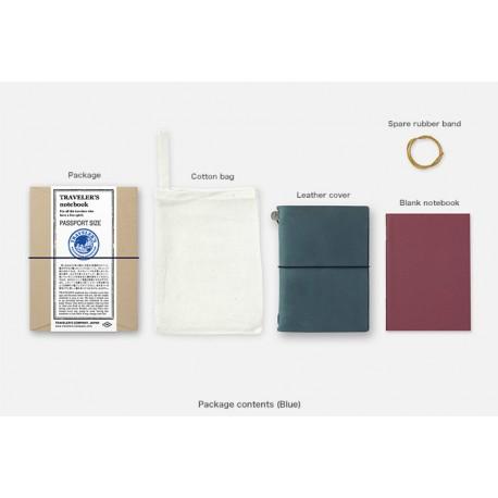 Notatnik Traveler's Notebook (Passport Size) Niebieski
