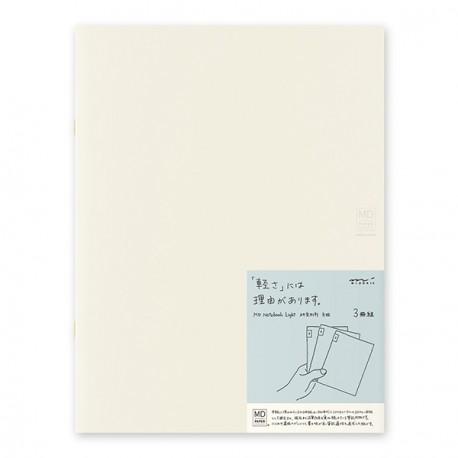 Notatnik MD Notebook Light A4 w kratkę