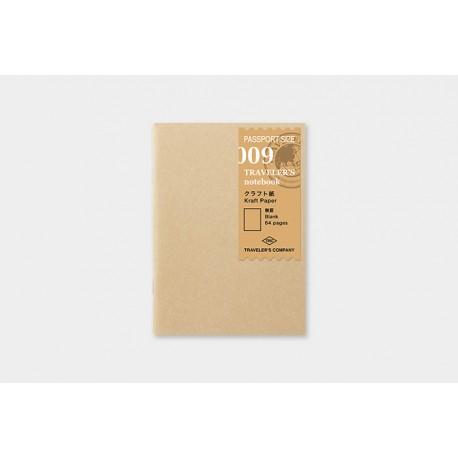 Wkład Traveler's Notebook (hash)009 (Passport size)