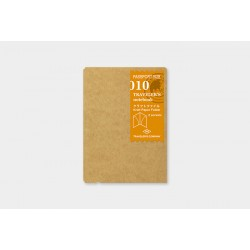 Wkład do Traveler's Notebook 010 (Passport Size): Folder