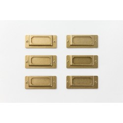 TRC BRASS Label Plate etykiety