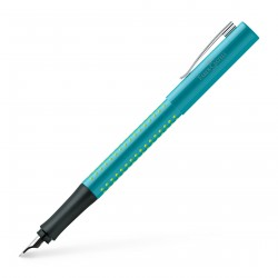 Faber-Castell Grip 2010 Fountain Pen Turquoise