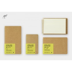 TRC Spiral Ring Notebook Paper Pocket