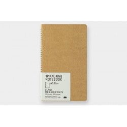 Kołonotatnik TRC Spiral Ring Notebook MD White A5 Slim