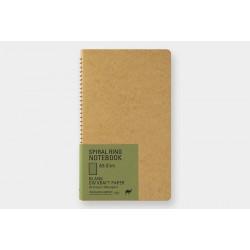 Kołonotatnik TRC Spiral Ring Notebook DW Kraft A5 Slim