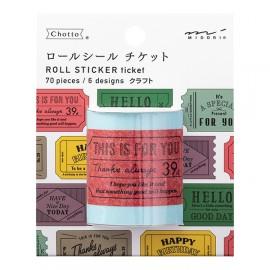 Midori Roll Sticker