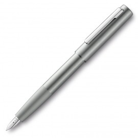 Lamy Aion Fountain Pen Olive Silver