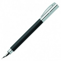 Fountain Pen Faber-Castell  Ambition Resin Black